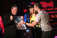 NEW YORK, NY - OCTOBER 04: Elvis Duran, Amy Heidemann and Nick Noonan at Hard Rock Rocks Times Square at Hard Rock Cafe, Times Square on October 4, 2012 in New York City. © RW/MediaPunch Inc. © /NortePhoto