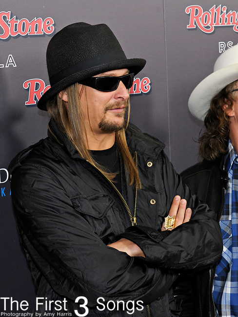 Musician Kid Rock attends the 2010 American Music Awards VIP After Party hosted by Rolling Stone Magazine at the Rolling Stone Restaurant & Lounge in Los Angeles, California.