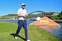 Marc Leishman (AUS) departs 13 for 14 during round 4 of the World Golf Championships, Dell Technologies Match Play, Austin Country Club, Austin, Texas, USA. 3/25/2017.<br /> Picture: Golffile | Ken Murray<br /> <br /> <br /> All photo usage must carry mandatory copyright credit (&copy; Golffile | Ken Murray)