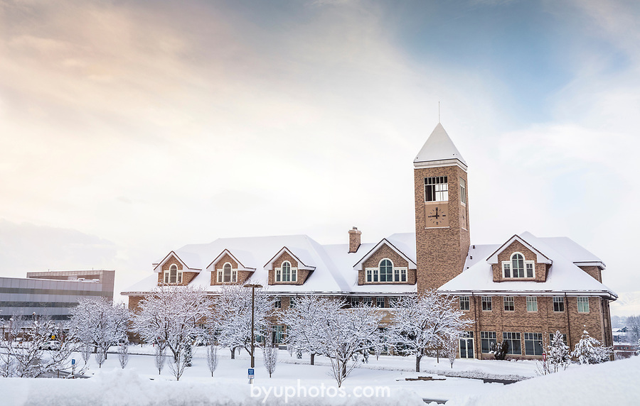 _YU18667<br /> <br /> 1701-01 GCS Snow<br /> <br /> December 9, 2016<br /> <br /> Photography by Nate Edwards/BYU<br /> <br /> © BYU PHOTO 2016<br /> All Rights Reserved<br /> photo@byu.edu  (801)422-7322