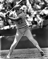 Former San Francisco Giant and St.Louis Cardinal slugger Jack Clark (1985 photo by Ron Riesterer)
