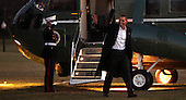 United States President Barack Obama walks from Marine One to the Oval Office on his return to the White House on Friday, January 22, 2010.  .Credit: Dennis Brack / Pool via CNP