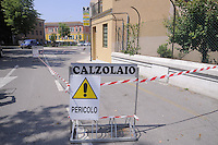 - terremoto in Emilia, il cento storico di Mirandola evacuato<br /> <br /> - Emilia earthquake, rubble in Cavezzo, the historic center of Mirandola evacuated