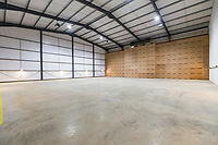New boxed refrigereated potato store with a plenum wall - Lincolnshire, October