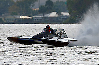 "J-1 ""Bluewater Special"" (1978 Staudacher 7 Litre Div II hydroplane)"