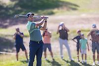 Sergio Garcia (ESP) on the 18th fairway during the third round of the Mutuactivos Open de Espana, Club de Campo Villa de Madrid, Madrid, Madrid, Spain. 05/10/2019.<br /> Picture Hugo Alcalde / Golffile.ie<br /> <br /> All photo usage must carry mandatory copyright credit (© Golffile | Hugo Alcalde)