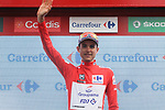 Rudy Molard (FRA) Groupama-FDJ retains the race leaders Red Jersey at the end of Stage 6 of the La Vuelta 2018, running 150.7km from Huércal-Overa to San Javier, Mar Menor, Sierra de la Alfaguara, Andalucia, Spain. 30th August 2018.<br /> Picture: Colin Flockton | Cyclefile<br /> <br /> <br /> All photos usage must carry mandatory copyright credit (© Cyclefile | Colin Flockton)