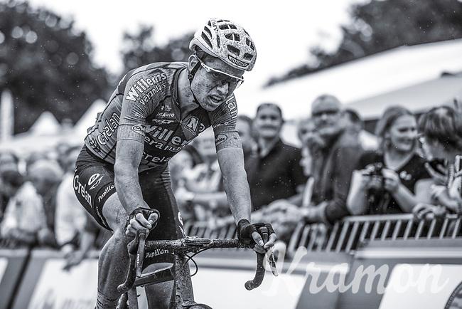 Wout Van Aert (BEL/Veranda's Willems-Crelan)  after finishing on the 3th place<br /> <br /> 2nd Dwars door het Hageland 2017 (UCI 1.1)<br /> Aarschot > Diest : 193km