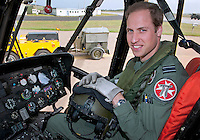 Prince William starts Air Ambulance Job - UK