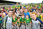 Bryan Sheehan and Tomas Hickey at Kerry GAA family day at Fitzgerald Stadium on Saturday.