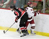 Katy Applin (NU - 20), Leanna Coskren (Harvard - 24) - The Harvard University Crimson defeated the Northeastern University Huskies 1-0 to win the 2010 Beanpot on Tuesday, February 9, 2010, at the Bright Hockey Center in Cambridge, Massachusetts.
