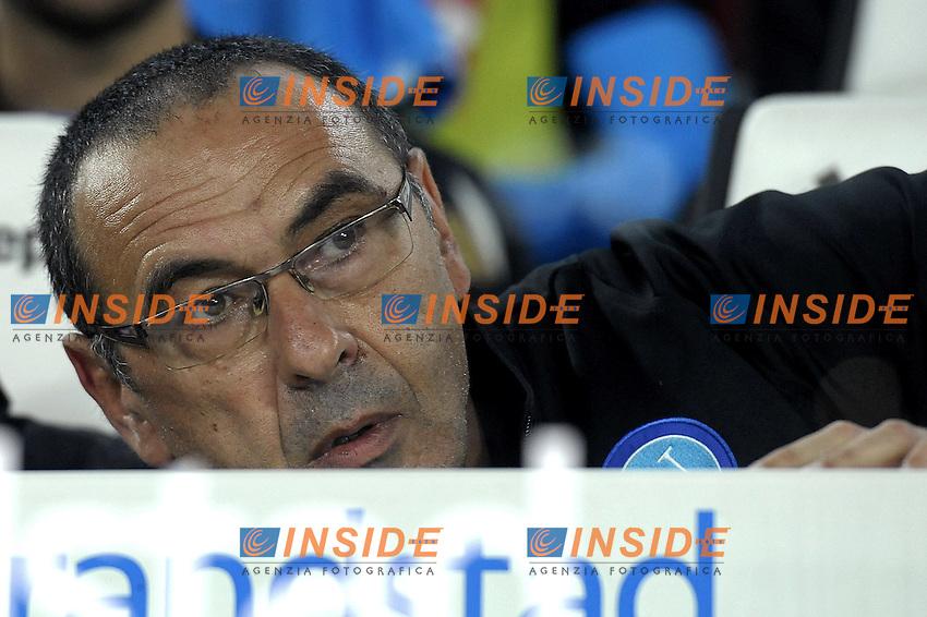 Maurizio Sarri,<br /> Torino 29-10-2016, Juventus Stadium, Football Calcio 2016/2017 Serie A, Juventus - Napoli, Foto Filippo Alfero/Insidefoto