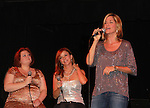 The Divas - One Life To Live's Kathy Brier and Kassie DePaiva and All My Children's Bobbie Eakes performed in concert on August 14, 2011 at The Triad, New York City, New York followed by a photo opportunity and autographs. (Photo by Sue Coflin/Max Photos)