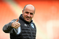 A happy Wigan Athletic Manager Paul Cook during AFC Bournemouth vs Wigan Athletic, Emirates FA Cup Football at the Vitality Stadium on 6th January 2018