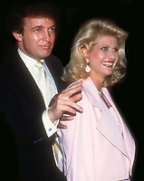 Donald Trump Ivana Trump Undated<br /> Photo By John Barrett/PHOTOlink