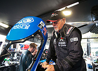Mar 16, 2019; Gainesville, FL, USA; NHRA former top fuel driver Don Garlits during qualifying for the Gatornationals at Gainesville Raceway. Mandatory Credit: Mark J. Rebilas-USA TODAY Sports