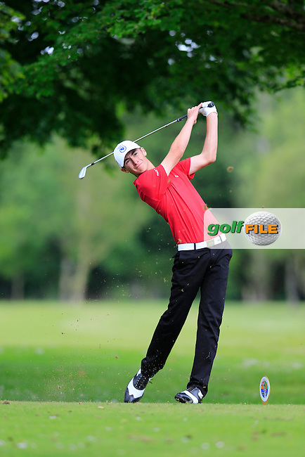 Adrien Pendaries (France) winner of the 2015 Irish Boys Amateur Open Championship, Tuam Golf Club, Tuam, Co Galway. 26/06/2015<br /> Picture: Golffile | Fran Caffrey