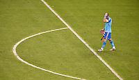 FUSSBALL WM 2014  VORRUNDE    Gruppe B     Spanien - Chile                           18.06.2014 Torwart Iker Casillas  (Spanien) ist nach dem Abpfiff enttaeuscht