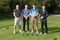 Team Turner & Townsend - Pictured from left are Mark Deakin, Rob Garton, James Walmsley and Ben Richardson