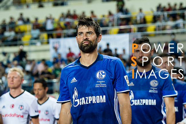 FC Schalke Defender Jorge Andujar Moreno (Coke) getting into the field during the Friendly Football Matches Summer 2017 between FC Schalke 04 Vs Besiktas Istanbul at Zhuhai Sport Center Stadium on July 19, 2017 in Zhuhai, China. Photo by Marcio Rodrigo Machado / Power Sport Images
