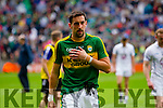 Anthony Maher,  Kerry players after the All Ireland Quarter Final at Croke Park on Sunday.