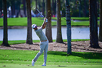 Adam Scott (AUS) watches his approach shot on 9 during round 2 of the Honda Classic, PGA National, Palm Beach Gardens, West Palm Beach, Florida, USA. 2/24/2017.<br /> Picture: Golffile | Ken Murray<br /> <br /> <br /> All photo usage must carry mandatory copyright credit (&copy; Golffile | Ken Murray)
