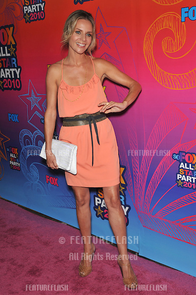 """Jessalyn Gilsig - star of """"Glee"""" - at Fox TV's All Star Party at Santa Monica Pier..August 2, 2010  Santa Monica, CA.Picture: Paul Smith / Featureflash"""