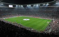 FUSSBALL   CHAMPIONS LEAGUE   SAISON 2011/2012     27.09.2011 FC Bayern Muenchen - Manchester City Stadionuebersicht Allianz-Arena Muenchen