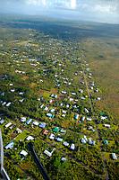Paradise Helicopters doors off flight of the volcano, Puna district, Hawaii, Big Island of Hawaii