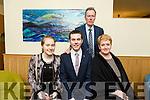 Attending the Lee Strand Garda Youth Achievement Awards at Ballyroe Heights Hotel on Friday were Tony Hanlon, Miriam Hanlon, Anthony Hanlon and Mairead Hanlon