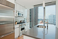 Kitchen at 550 West 54th Street