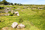 Carn Euny prehistoric village, Cornwall, England, UK