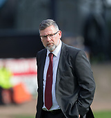 30th September 2017, Dens Park, Dundee, Scotland; Scottish Premier League football, Dundee versus Hearts; Hearts' boss Craig Levein