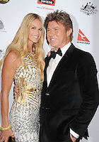 LOS ANGELES, CA - JANUARY 12: Elle MacPherson and Richard Wilkins attend the 2013 G'Day USA Black Tie Gala at JW Marriott Los Angeles at L.A. LIVE on January 12, 2013 in Los Angeles, California.PAP0101387.G'Day USA Black Tie Gala PAP0101387.G'Day USA Black Tie Gala