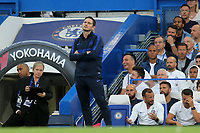 Chelsea Manager, Frank Lampard during Chelsea vs Sheffield United, Premier League Football at Stamford Bridge on 31st August 2019