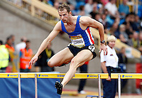 Photo: Richard Lane/Richard Lane Photography..Aviva World Trials & UK Championships athletics. 11/07/2009. Rhys Williams in a men's 400m heat.