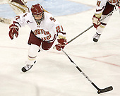 Andrea Green (BC - 21) - The Boston College Eagles defeated the visiting Northeastern University Huskies 2-1 on Sunday, January 30, 2011, at Conte Forum in Chestnut Hill, Massachusetts.