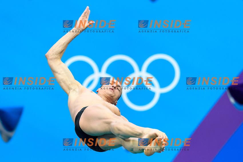 CASTRO Cesar BRA <br /> Rio de Janeiro 15-08-2016 Maria Lenka Aquatics Center  <br /> Men's 3m Springboard Preliminaries <br /> Diving Tuffi <br /> Foto Andrea Staccioli / Deepbluemedia /Insidefoto