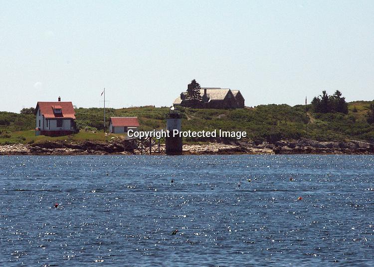 Ram Island Light, off Ocean Point, ME