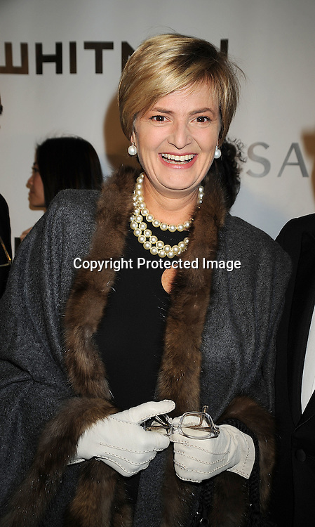 Gloria von Thurn und Taxis.arriving at The Whitney Museum of American Art's Gala on October 20, 2008 at The Whitney Museum in New York City. ..Robin Platzer, Twin Images