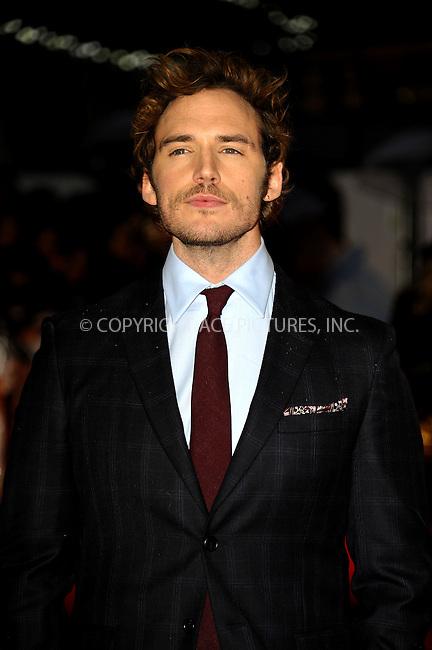 WWW.ACEPIXS.COM<br /> <br /> US SALES ONLY<br /> <br /> October 6, 2014, London, England<br />  <br /> Sam Claflin arriving at the World Premiere of 'Love, Rosie' held at Odeon West End on October 6, 2014 in London, England.<br /> <br /> By Line: Famous/ACE Pictures<br /> <br /> ACE Pictures, Inc<br /> Tel: 646 769 0430<br /> Email: info@acepixs.com