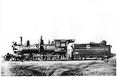 D&amp;RG locomotive #167, built in 1883, at Gunnison.<br /> D&amp;RG  Gunnison, CO