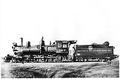 D&amp;RG locomotive #167, built in 1883, at Gunnison.<br /> D&amp;RG  Gunnison, CO