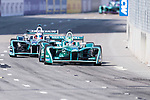 Antonio Felix da Costa of Portugal from MS & AD Andretti Formula E competes in the Formula E Non-Qualifying Practice 2 during the FIA Formula E Hong Kong E-Prix Round 1 at the Central Harbourfront Circuit on 02 December 2017 in Hong Kong, Hong Kong. Photo by Marcio Rodrigo Machado / Power Sport Images