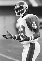 Jake Scott Montreal Alouettes 1981. Photo F. Scott Grant