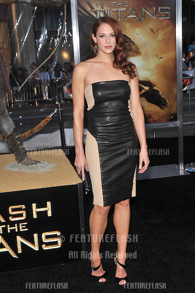 "Amanda Righetti at the Los Angeles premiere of ""Clash of the Titans"" at Grauman's Chinese Theatre, Hollywood..March 31, 2010  Los Angeles, CA.Picture: Paul Smith / Featureflash"