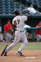 Chris Dominguez ---  AZL Giants - 2009 Arizona League.Photo by:  Bill Mitchell/Four Seam Images