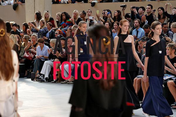 Paris, Fran&ccedil;a &sbquo;09/2014 - Desfile de Celine durante a Semana de moda de Paris  -  Verao 2015. <br /> <br /> Foto: FOTOSITE