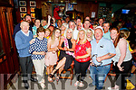 Helena Hunter Barry from Tralee surrounded by her family and friends as she celebrates her 50th birthday in the Castle Bar on Sunday.