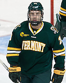 Nick Luukko (UVM - 25) - The Boston College Eagles defeated the University of Vermont Catamounts 4-1 on Friday, February 1, 2013, at Kelley Rink in Conte Forum in Chestnut Hill, Massachusetts.